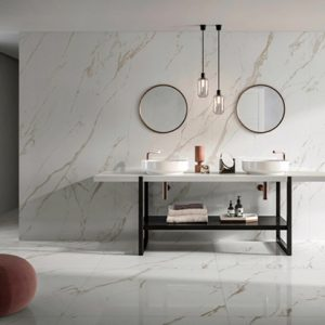 Marmoker Statuario Oro Polished 1600x3200x12mm