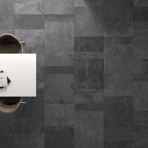 Ardesia Lisca Avorio Mosaic 375×375 Sht