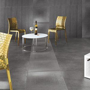 Cemento Antracite Rasato 600×600