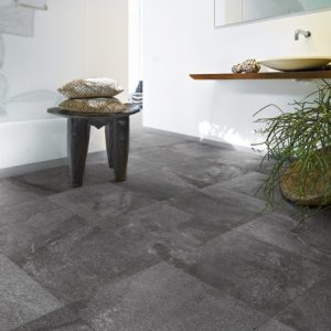Black External Floor Tile