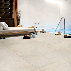 White External Floor Tiles