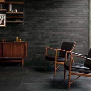 Black Subway Wall - Maku Dark