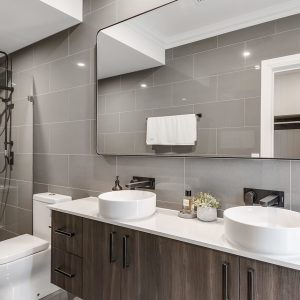 Bathroom Tiles - Maku Grey 300x600