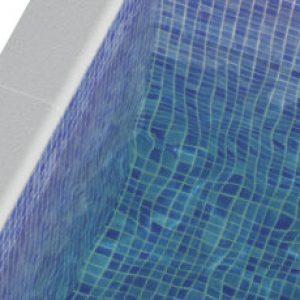 Pool Mosaic Tiles - Fog Verde Turquoise Mosaic