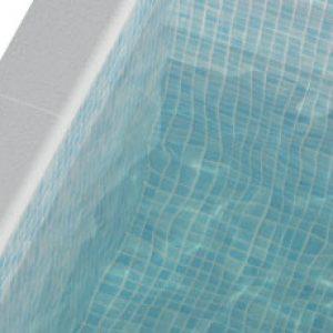 Pool Mosaic Tiles - Fog Azul Opalo Mosaic