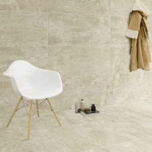 Porcelain Stone Look Tiles - Moon Stone Beige