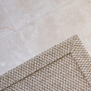 Travertine Classic Light Tumbled & Unfilled French Pattern