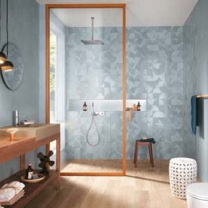Mat & More Azure Decorative Wall Tile