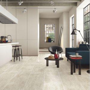 Porcelain Kitchen Tiles - Moon Stone Beige