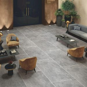 Porcelain Floor Tile - Moon Stone Grey