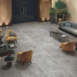 Porcelain Floor Tile - Moon Stone Grey