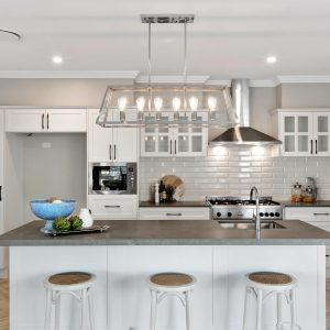 Kitchen Splashback Tiles - Bellini Bisel Blanco White