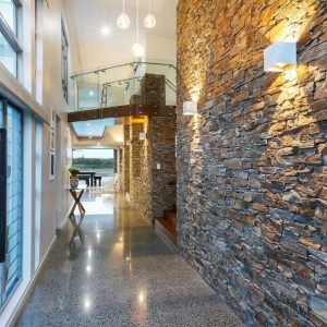 Stone Wall Cladding - Oz Rock Rusty Quartz