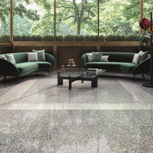 Terrazzo Floor Grey