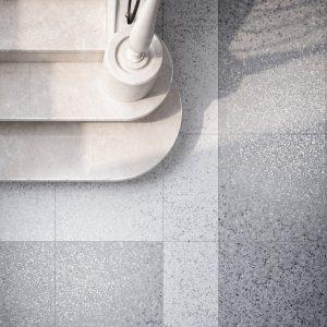 Terrazzo Floor Pearl Grey