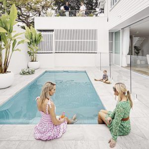 Smout Property - Brock Beazley Photography - Pool Tiles - Oyster Silver 40x60