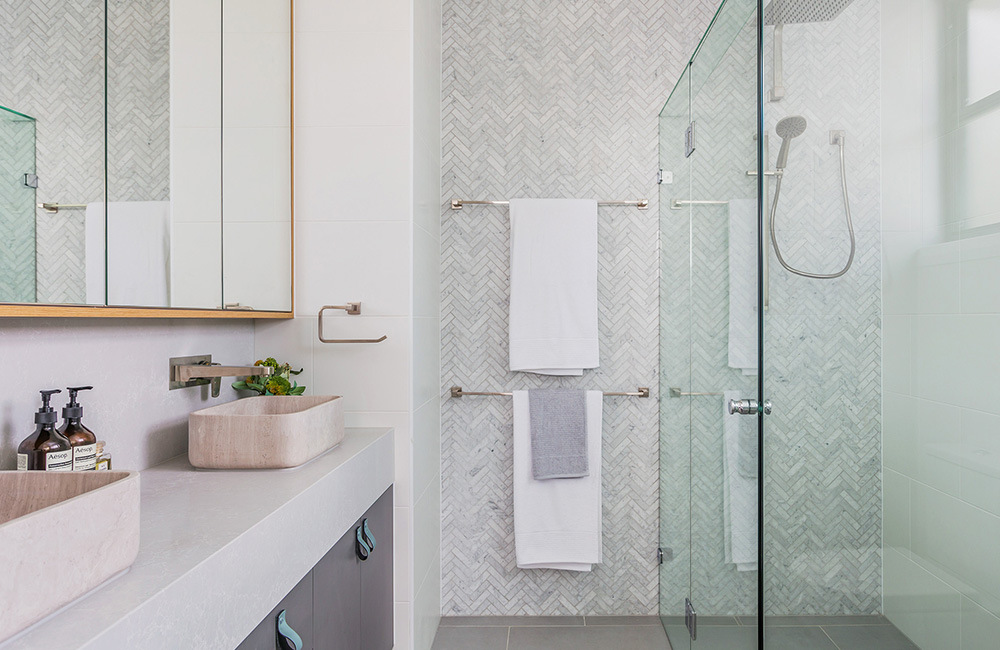 Nailing Your Bathroom Tile Design Groove Tiles Stone