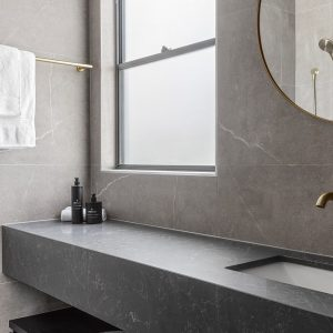 Bathroom Tiles- Venus Medium Grey 600x600