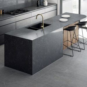 Kitchen Tiles - Venus Medium Grey 600x600