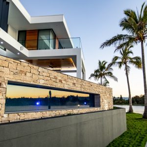 Luxury Home - Paradise Oz Rock Pantheon Wall Feature